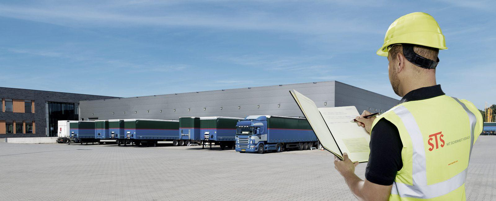 STS Sicherheit: Mitarbeiter der Logistik