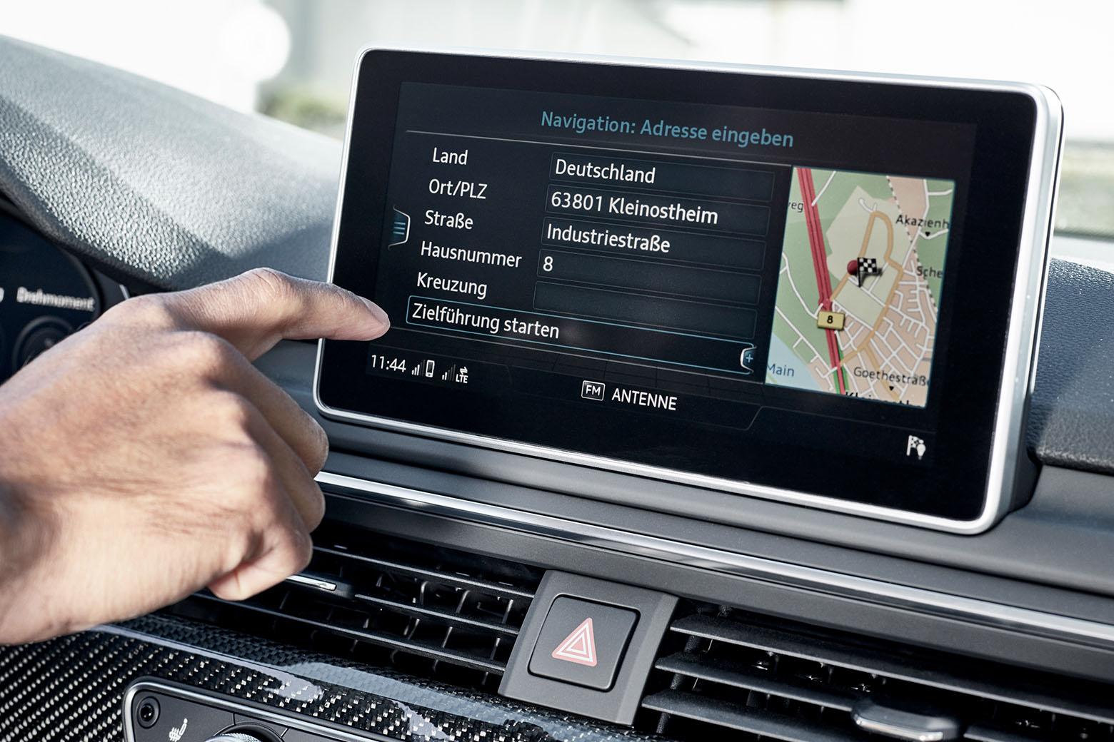 Autonavigationssystem mit dem Ziel STS